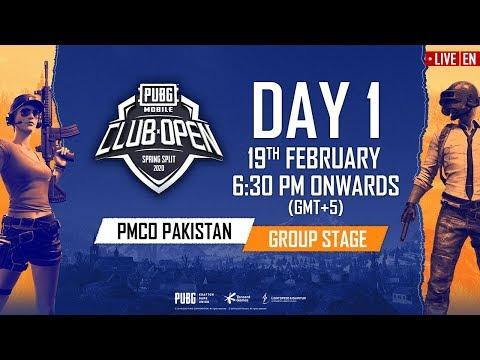 [EN] PMCO Pakistan Group Stage Day 1 | Spring Split | PUBG MOBILE CLUB OPEN 2020