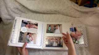 Свадебный фотоальбом.(, 2015-03-11T07:56:53.000Z)