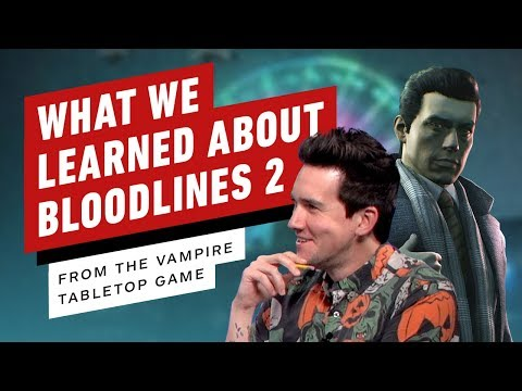 What The Vampire Tabletop RPG Tells Us About Bloodlines 2