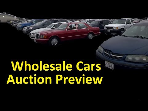 Wholesale Car Auction video Live Auto Dealer only Sale ~ GSA Cars