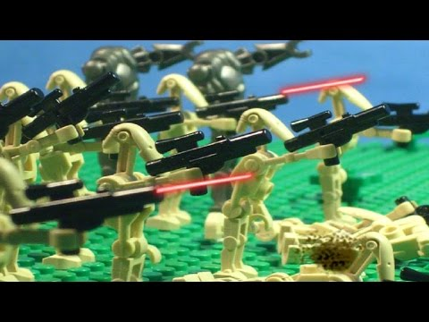 Epic Lego Castle Battle