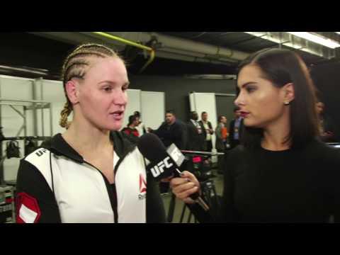 Fight Night Denver: Valentina Shevchenko Backstage Interview