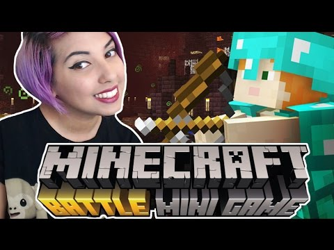 MINECRAFT MINIGAMES COME TO CONSOLE | Minecraft Battle (Xbox Footage)