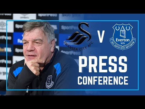 LIVE PRESS CONFERENCE: SWANSEA V EVERTON