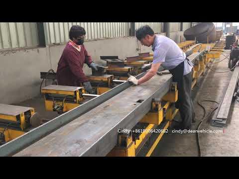 Trailer Manufacturing Process---Main Beam Welding