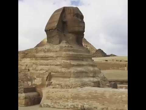 The sphinx area , Giza , Egypt