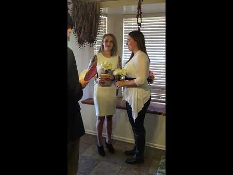 Stephanie & Miranda - Lesbian Wedding in Oklahoma - Wedding In Wedding Officiant John Keefe