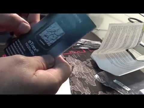 Unboxing GPS Garmin ETrex 30x PT-BR