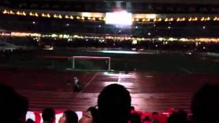 横浜fm vs 鹿島アントラーズ 試合前20周年記念試合セレモニー 2012 3/31