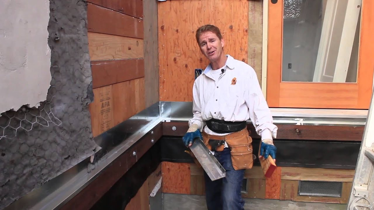 Deck Ledger Board Installation Youtube