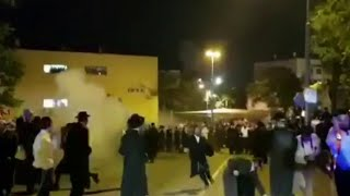 Police Officers Injured in Ultra-Orthodox IDF Draft Riot