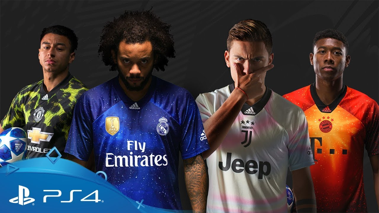 size 40 0dccb 2cc2c FIFA 19 | EA SPORTS x adidas Limited Edition Jerseys Reveal | PS4