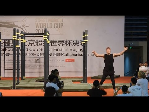 Street workout world cup super final 2016 in Beijing - Final battle