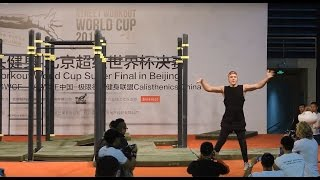 Street workout world cup super final 2016 in Beijing - Final battle