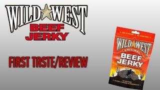 Wild West Original Beef Jerky First Taste/review