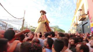 Venida de la Virgen del Rocío 2019 Recorrido por las calles de Almonte