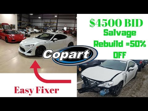 Cheapest 2016 Scion FRS in the Country from COPART Auction! Inspired by B is for Build and Samcrac