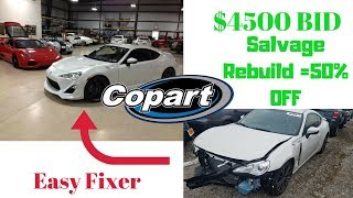 Copart: My 2016 Scion FRS Total Cost