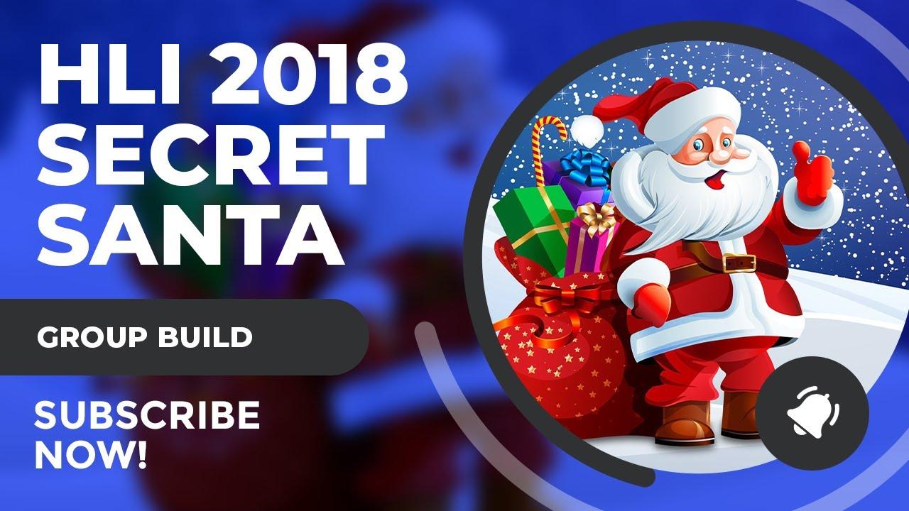 SciFiantasy 2018 Secret Santa Group Build