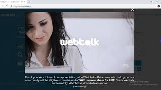 what is webtalk ?