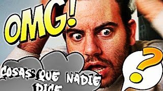 COSAS QUE NADIE DICE |🔺| Brayan Sánchez