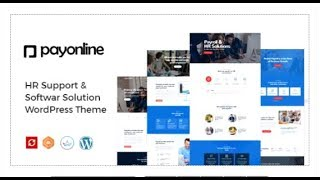 Payonline - online payroll and hr software wordpress theme | themeforest templates