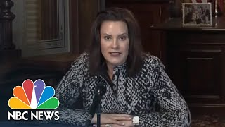 Michigan Governor Gives Coronavirus Response Briefing | NBC News