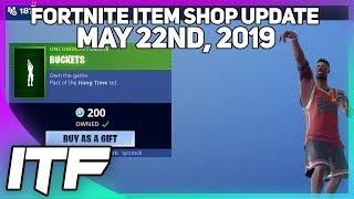 Fortnite Item Shop *NEW* BUCKETS EMOTE! [May 22nd, 2019] (Fortnite Battle Royale)