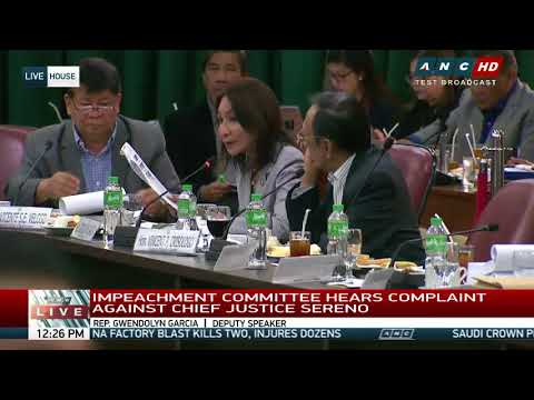 2 Sereno lawyers, CHR exec face possible House contempt