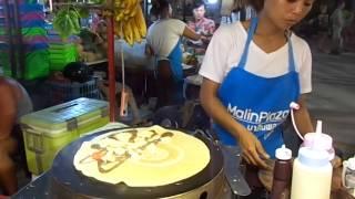 Тайские блинчики на рынке о. Пхукет