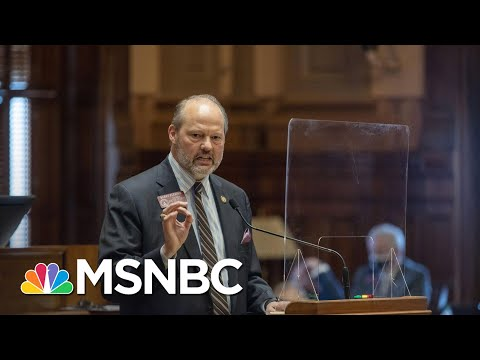 Georgia Republicans Concentrate Control Over How Elections Are Run   Rachel Maddow   MSNBC