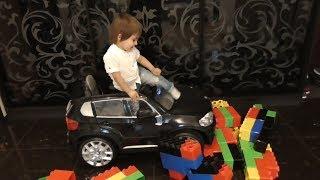 Cars for Kids vs GIANT BLOCKS Toys for Kids