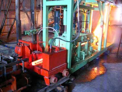 continuous casting machine for steel billets 60x60mm-150x150mm