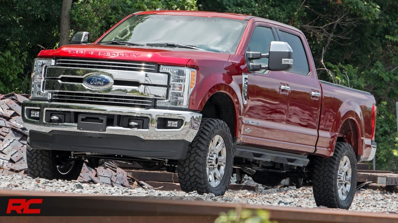 2017 Ford F-250 Super Duty Rough Country Off-road Edition  Ruby Red  Vehicle Profile