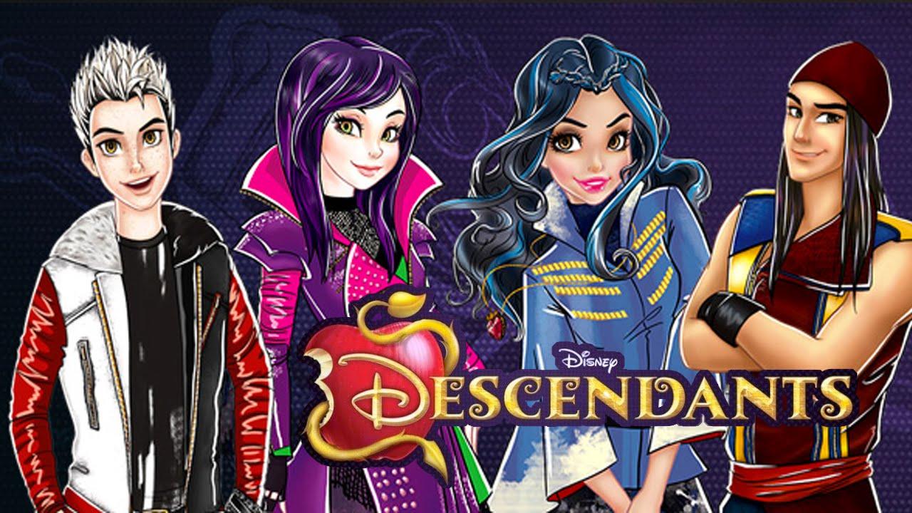 Disney Descendants Isle Of The Lost Rush Youtube