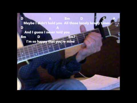 Always On My Mind 'By Willie Nelson' Practice video with chords and lyrics.