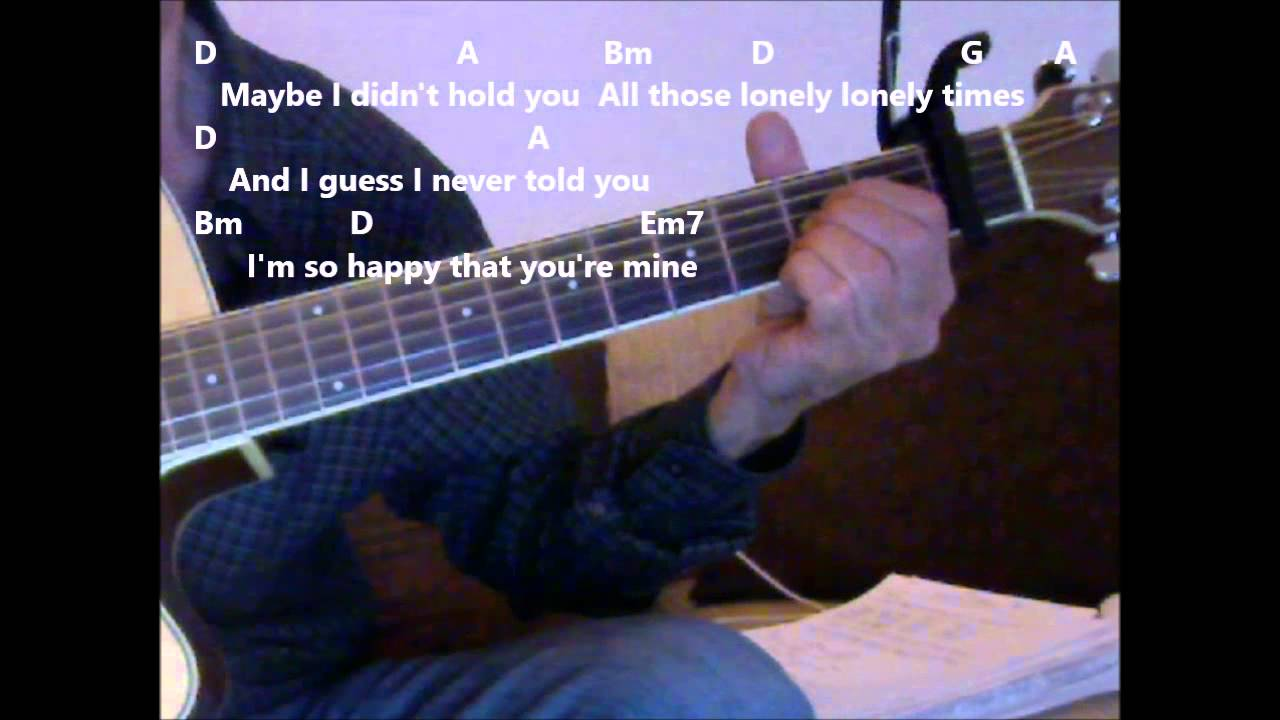 Always On My Mind By Willie Nelson Practice Video With Chords And