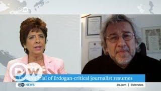 Exiled Turkish journalist Can Dündar talks to DW's Amrita Cheema | DW English