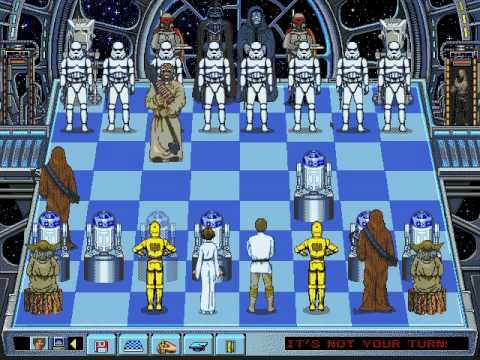 Star Wars Chess 1993