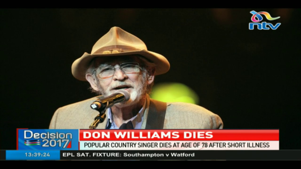 Don Williams, country singer with 17 No. 1 hits, dies at 78