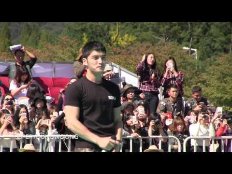[Fancam] 151002 Jaejoong at Ground Forces Festival - Arirang