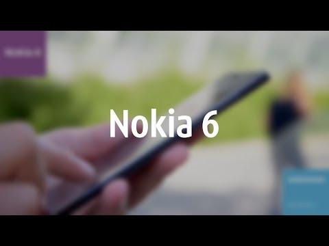 Видеообзор смартфона Nokia 6