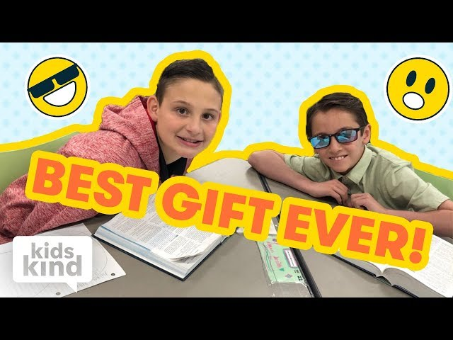 The kid who gave his friend the ability to see color | Kidskind
