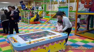 On the playground TH ARTEM Nur-Sultan city. На детской площадке ТД АРТЕМ г. Нур-Султан.