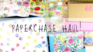 Paperchase Haul! | April 2015 | MyGreenCow