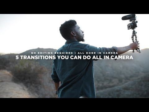 5 Transition Techniques You Can Do ALL IN CAMERA!
