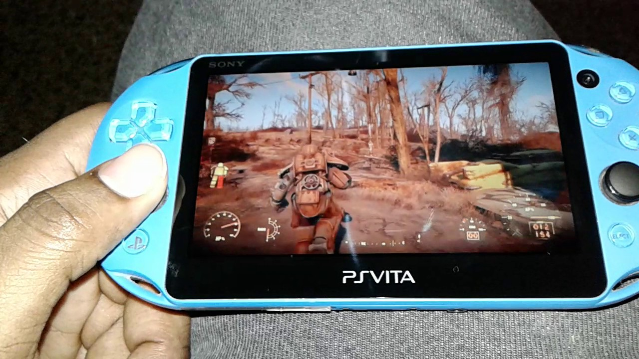 Fallout 4 Ps vita Remote play test