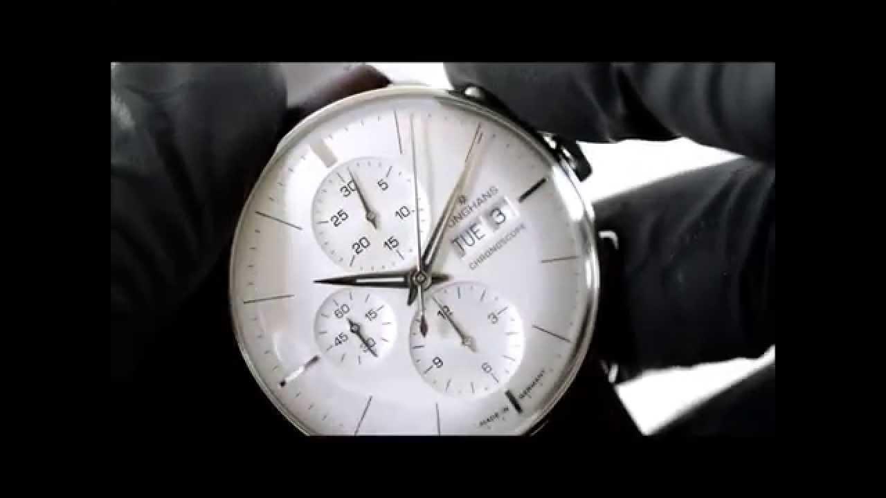 e8b1011488ea6 Junghans Meister Chronoscope 027 4120.01 - YouTube