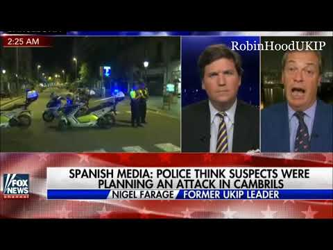 Nigel Farage with Tucker on Trump, Poland and Spain