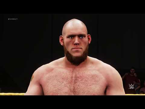 WWE 2K18 PC Semi Final match of the gold rush tournament for the NXT Championship 7/10
